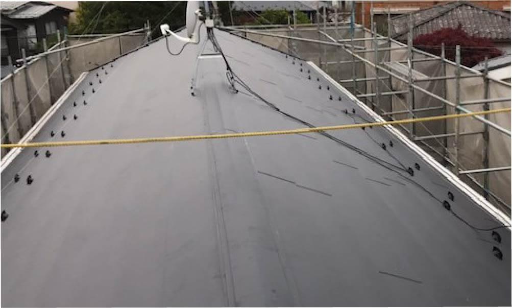 八千代市の屋根リフォームの施工事例