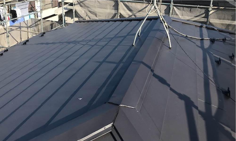練馬区の屋根葺き替え工事の施工事例