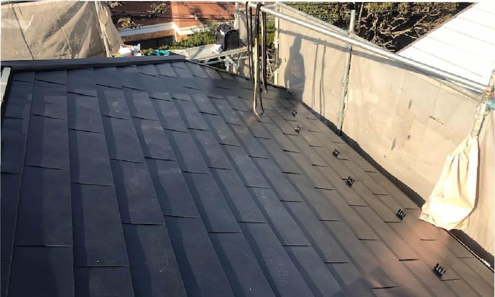 世田谷区の屋根リフォーム施工事例