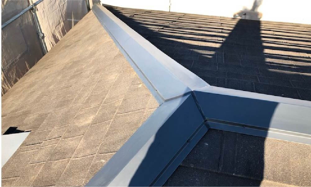 横浜市の屋根塗装の施工事例