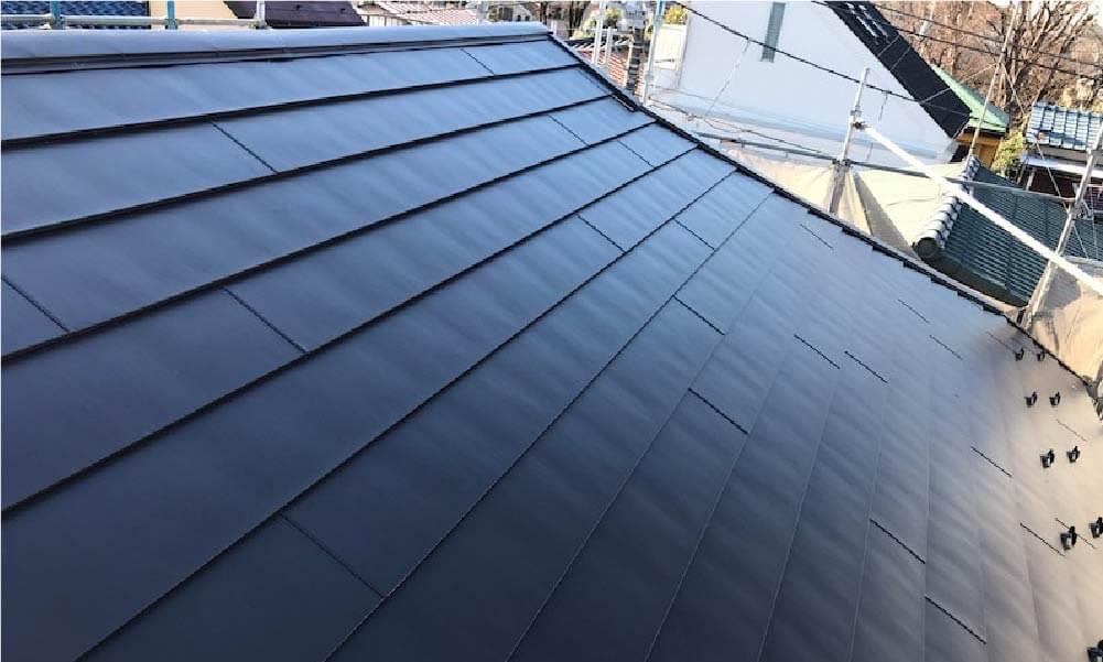 練馬区の屋根リフォームの施工事例