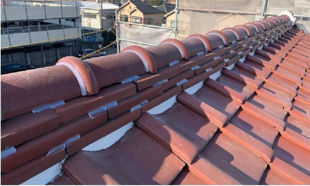 横は市の屋根修理の施工事例