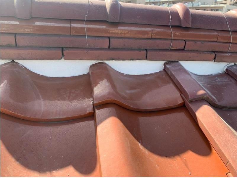 横浜市の屋根修理の施工後の様子