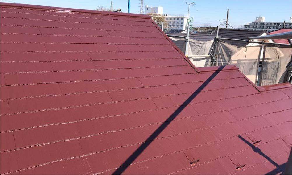 松戸市の屋根塗装の施工事例
