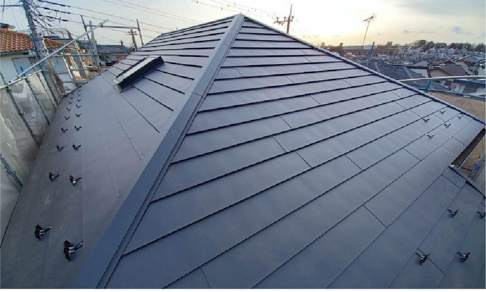松戸市の屋根リフォームの施工事例