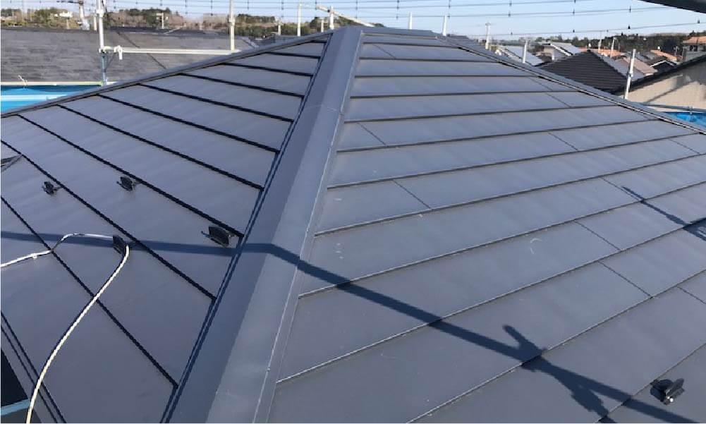 袖ケ浦市の屋根リフォームの施工事例