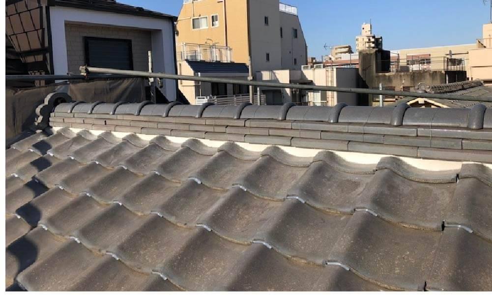 豊島区の漆喰補修工事の施工事例