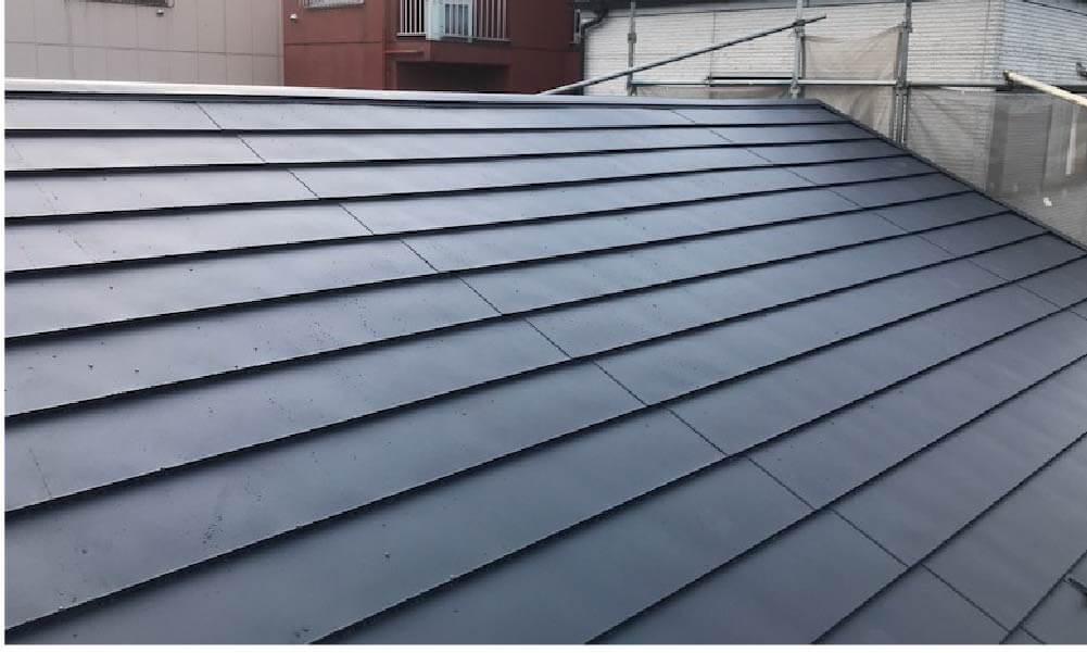 豊島区の屋根葺き替え工事の施工事例