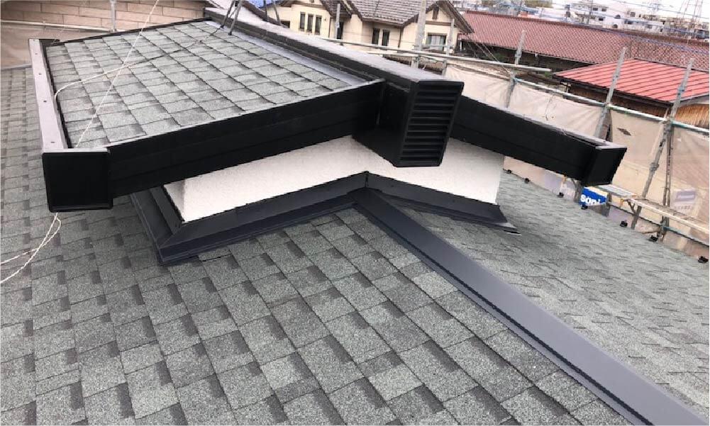 東大和市の屋根リフォームの施工事例