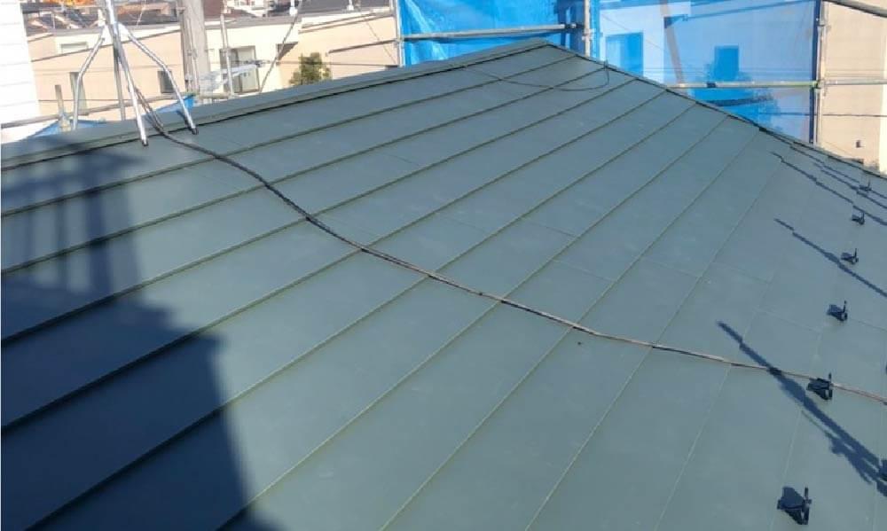 足立区の屋根葺き替え工事の施工事例