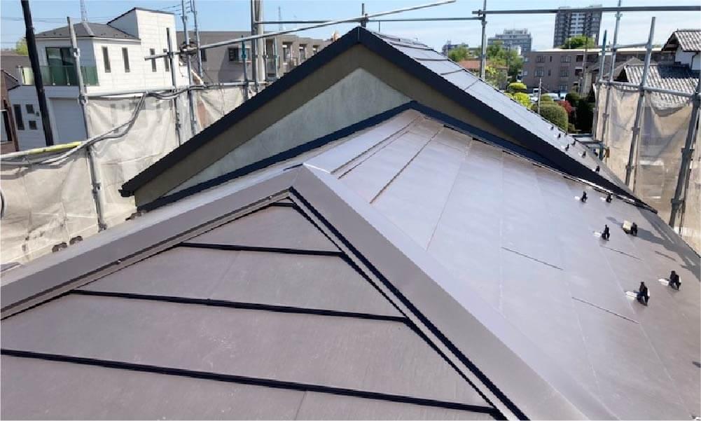 練馬区の屋根リフォーム施工事例