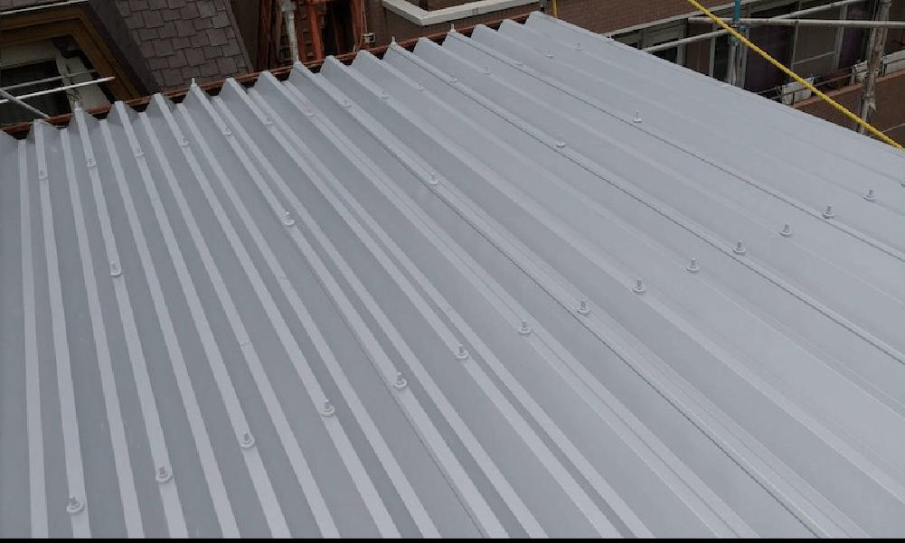 千葉市の折半屋根のリフォームの施工事例