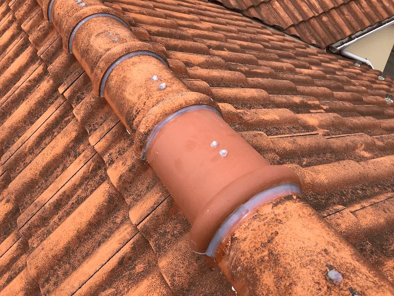 保土ヶ谷区の屋根修理の施工後の様子