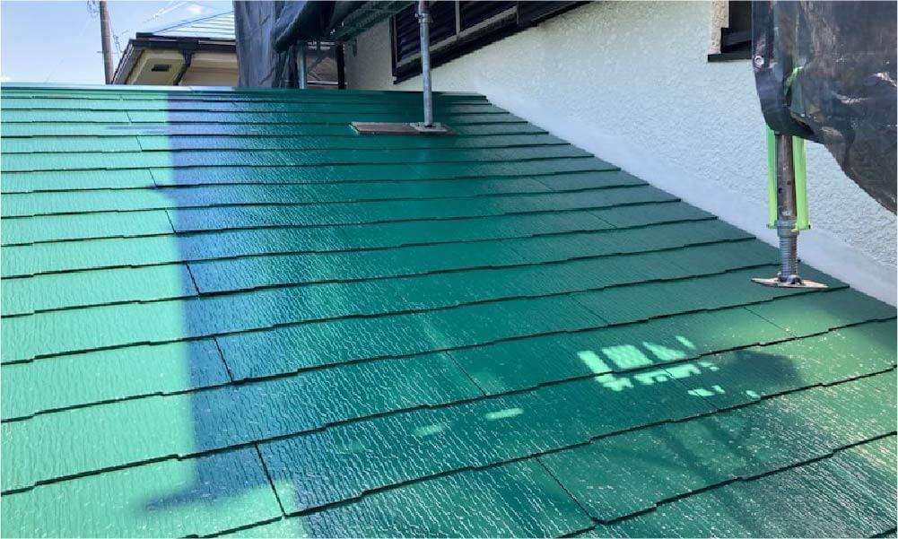 相模原市の屋根塗装の施工事例