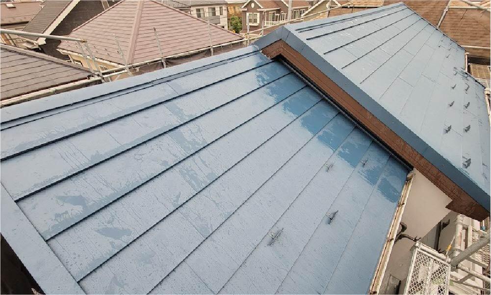 東村山市の屋根リフォームの施工事例