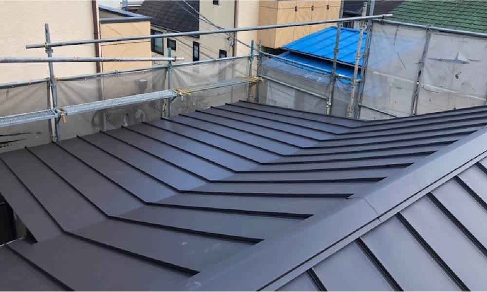 目黒区の屋根リフォームの施工事例