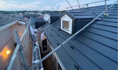 横浜市の屋根リフォームの施工事例